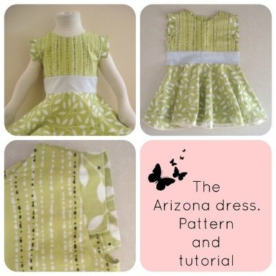 FREE SEWING PATTERN:  The Arizona dress