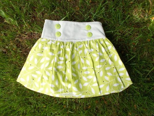 FREE SEWING PATTERN: The Sofia skirt