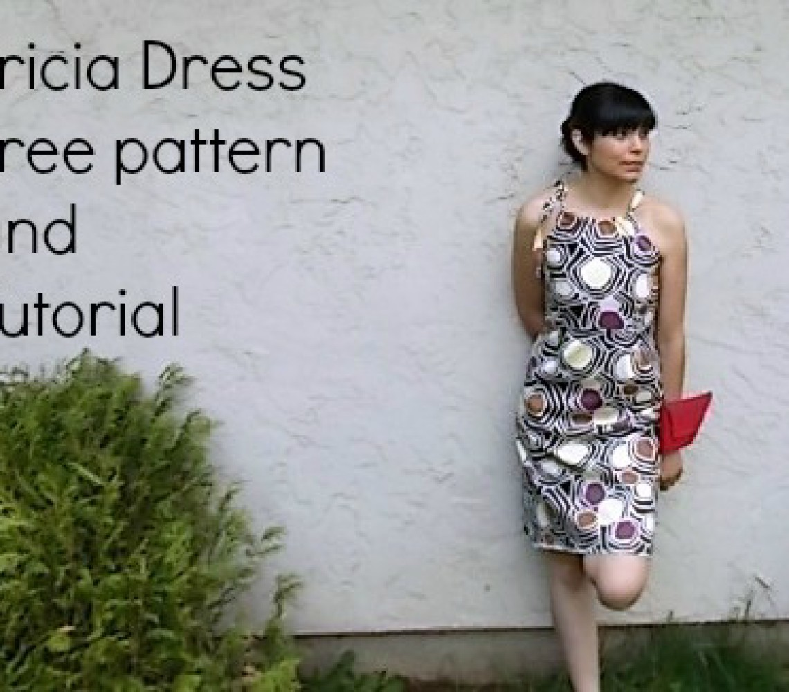 FREE SEWING PATTERN:  Tricia Dress