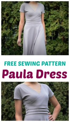 Free SEwing Pattern PAula Dress