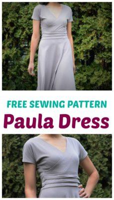 Free SEwing Pattern PAula Dress