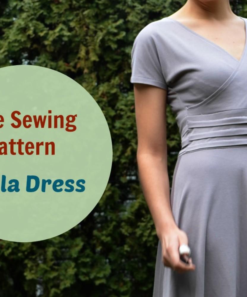 FREE SEWING PATTERN:  Paula Dress