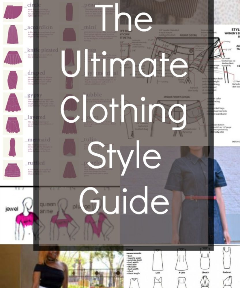 The Ultimate Clothing Style Guide On The Cutting Floor