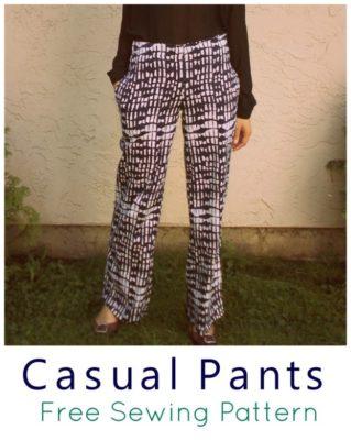 sewing pattern pdf free download pant