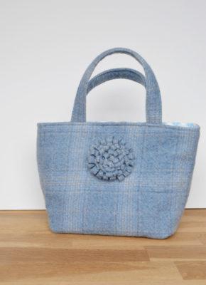 Upcycle Tweed Tote Bag