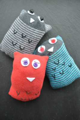Owl Socks, odd socks, what would you make