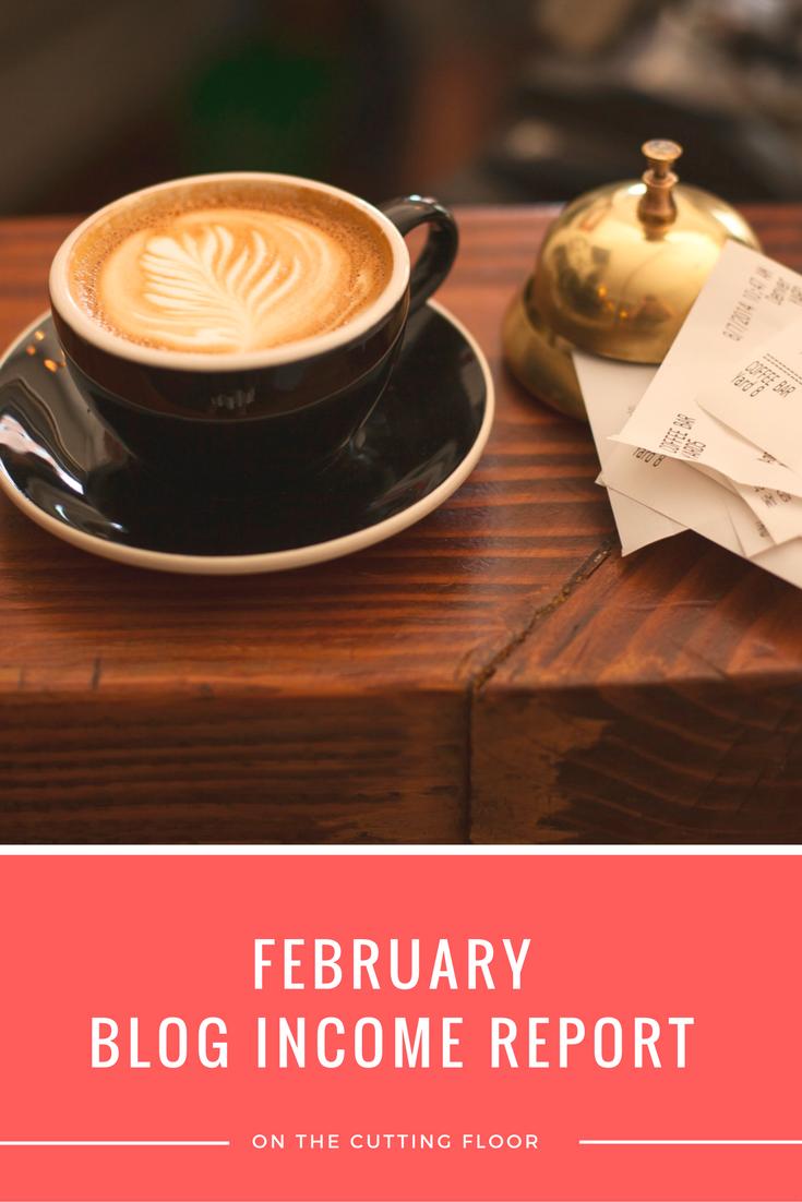 Blog Income Report: February 2015