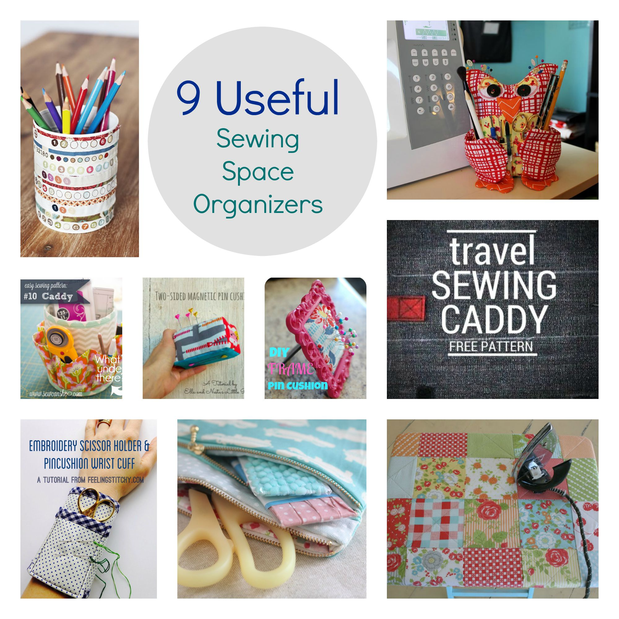 9 useful sewing space organizers main