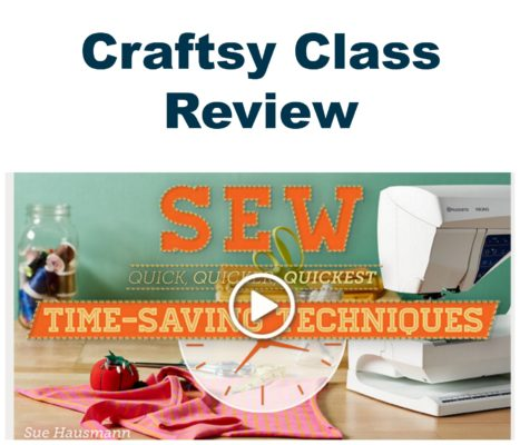 Craftsy Class Review