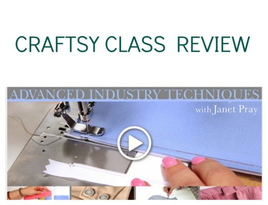 Review: Sew Better, Sew Faster: Advanced Industry Techniques by Janet Pray