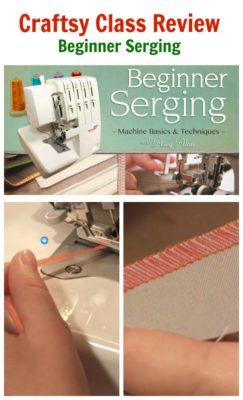 Craftsy Class Review Beginner Serging by Amy Alan