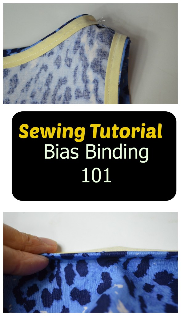 Sewing tutorial bias binding 101