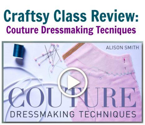 couture dressmaking techniques