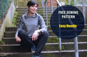 Free Sewing Pattern: Easy Hoodie