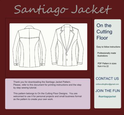 New Pattern for Sale: Santiago Jacket