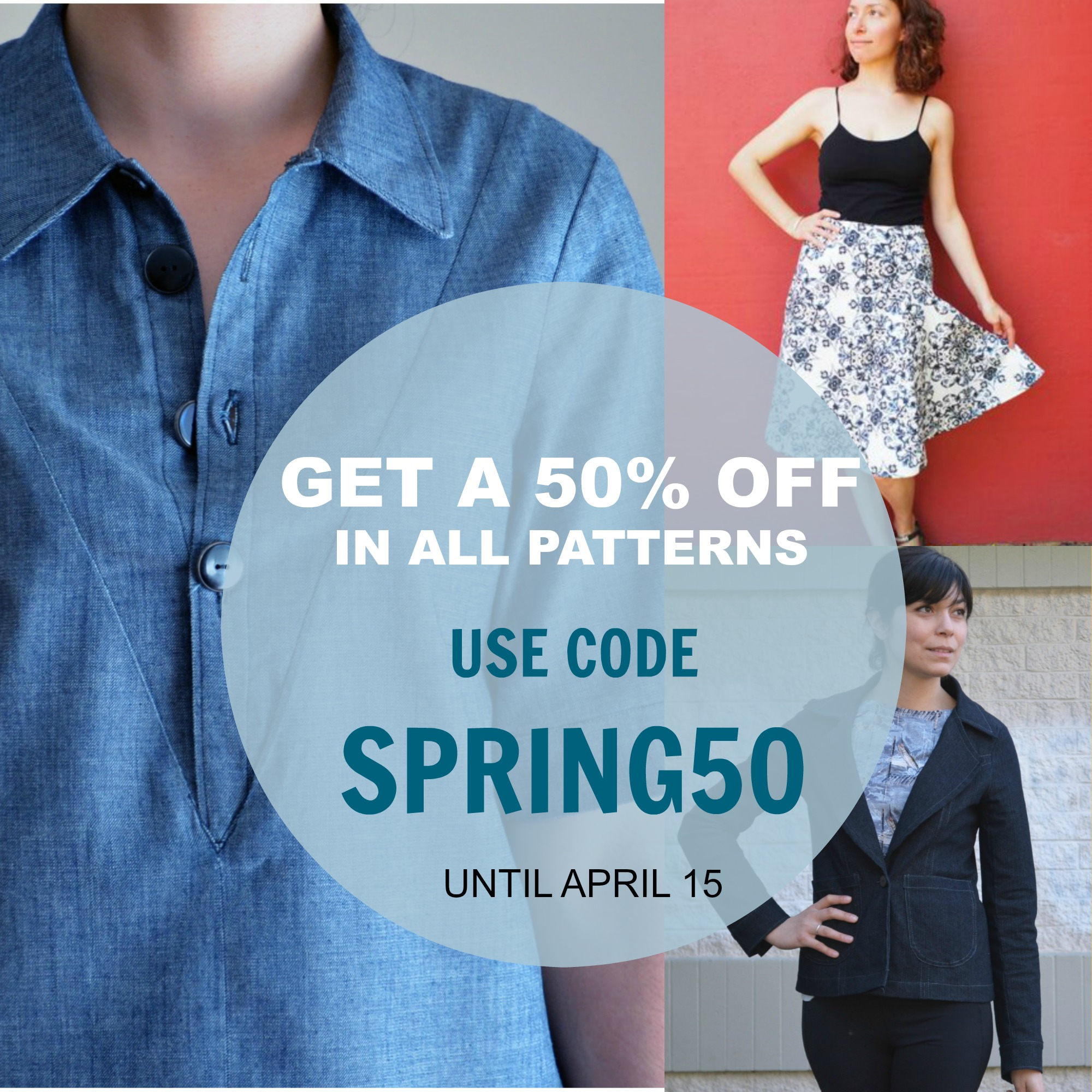 PATTERNS FOR SALE: GET A 50% STOREWIDE