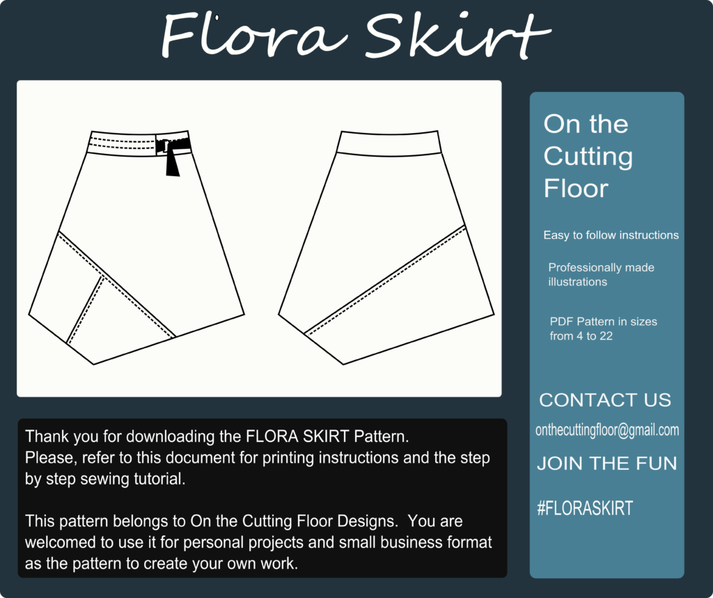 New Pattern Released: The Flora Skirt