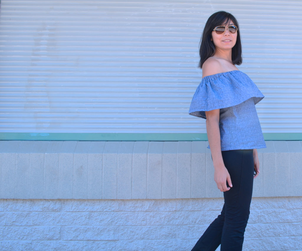 Free sewing Pattern Oliva Top