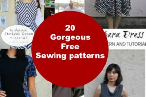20 Gorgeous Free Dress sewing pattern for women – PART 4