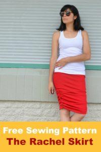 Rachel skirt promo