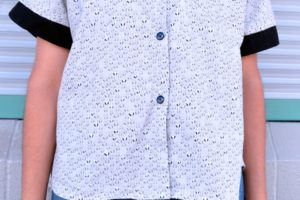 Ashley Kimono shirt and dress – Sew along part one