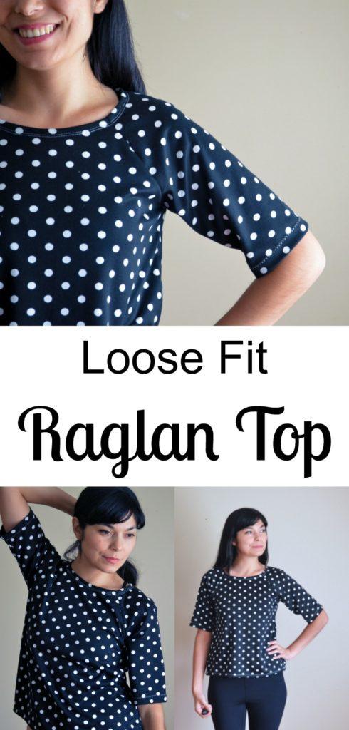 Simple Loose fit Raglan Top Sewing Tutorial