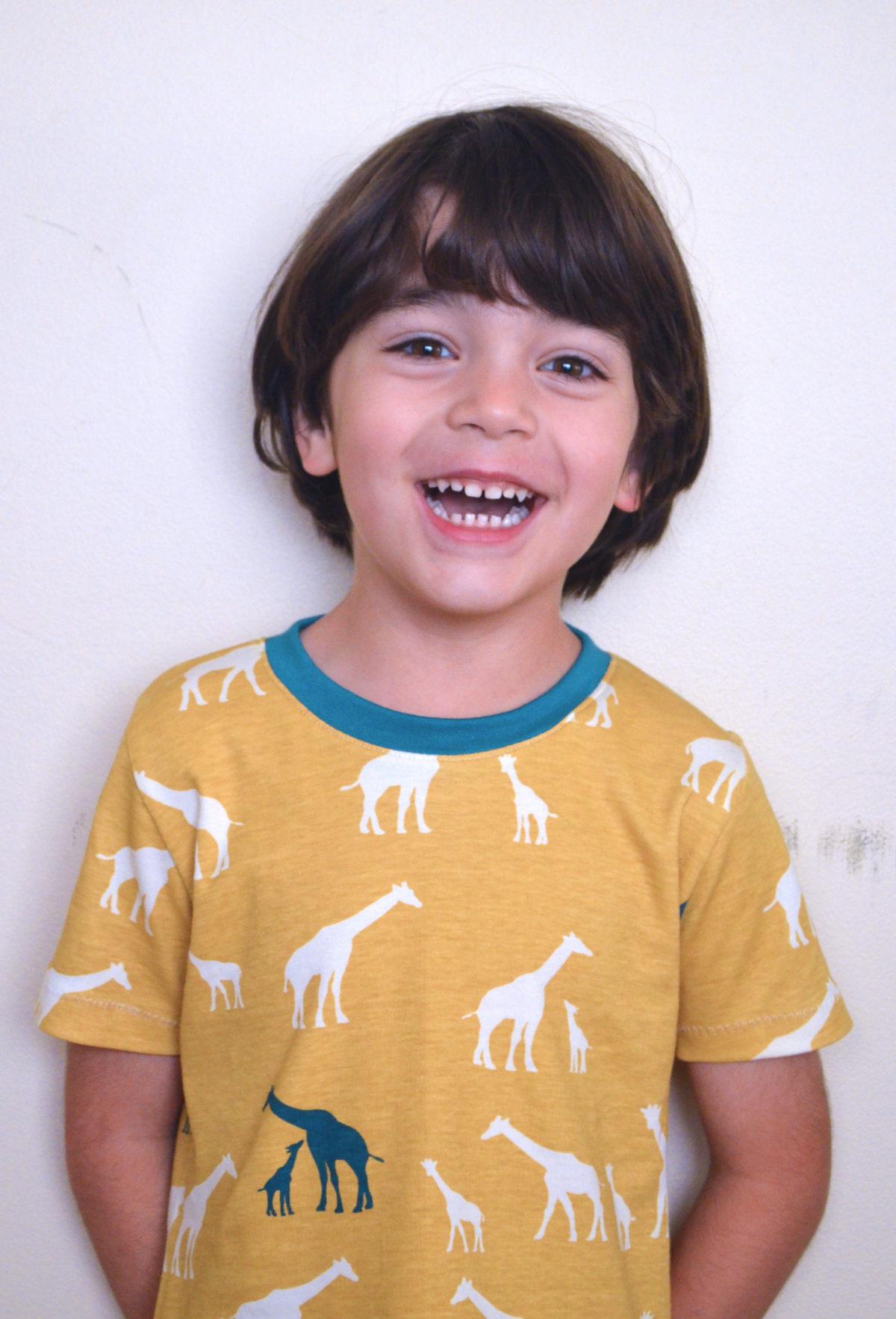 Easy T-shirt for kids