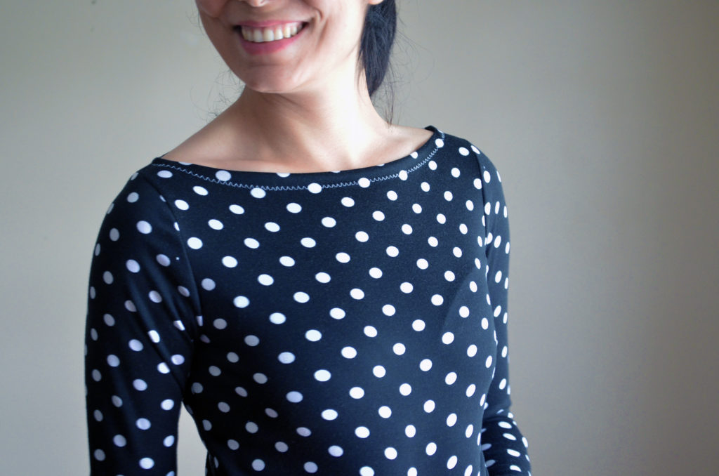 FULL PATTERN AND ILLUSTRATED TUTORIAL: the Boatneck top