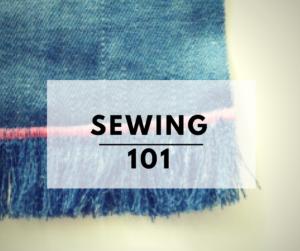EASY SEWING TUTORIALS