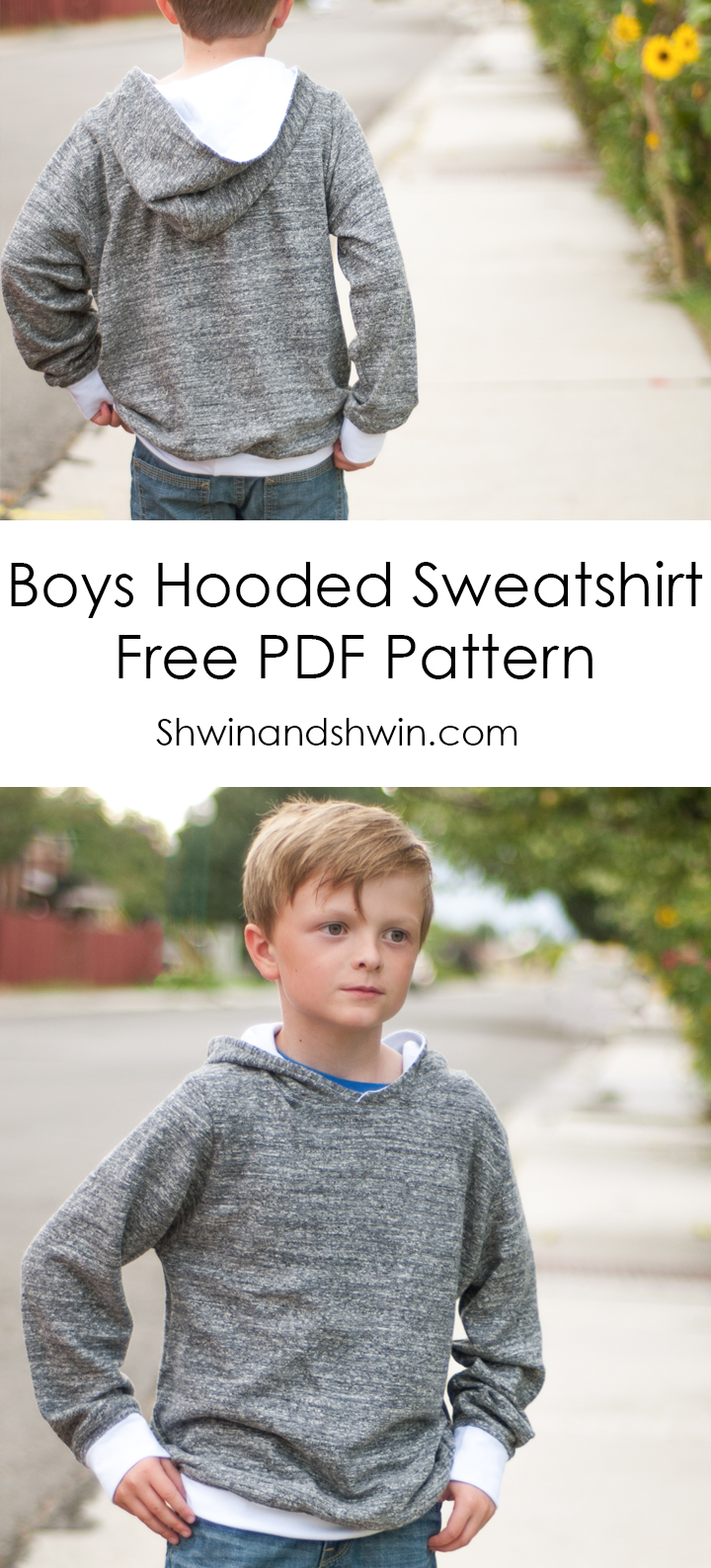 20 hoodie free printable sewing patterns on the cutting floor one more for the kids jeuxipadfo Choice Image