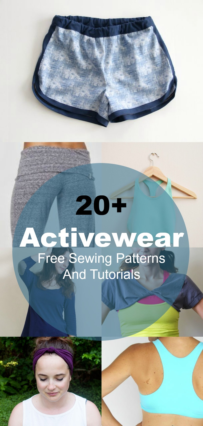 20 Free 12 Granny Square Crochet Patterns: 20+ Free Sewing Patterns For Athletic Wear