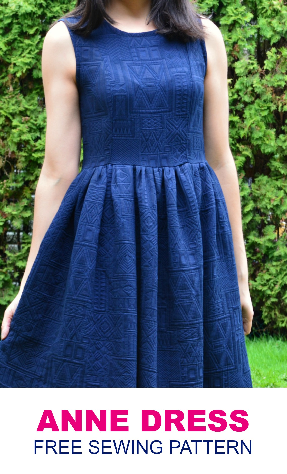 Free sewing pattern for women on the cutting floor printable this is our free sewing pattern the anne dress jeuxipadfo Gallery