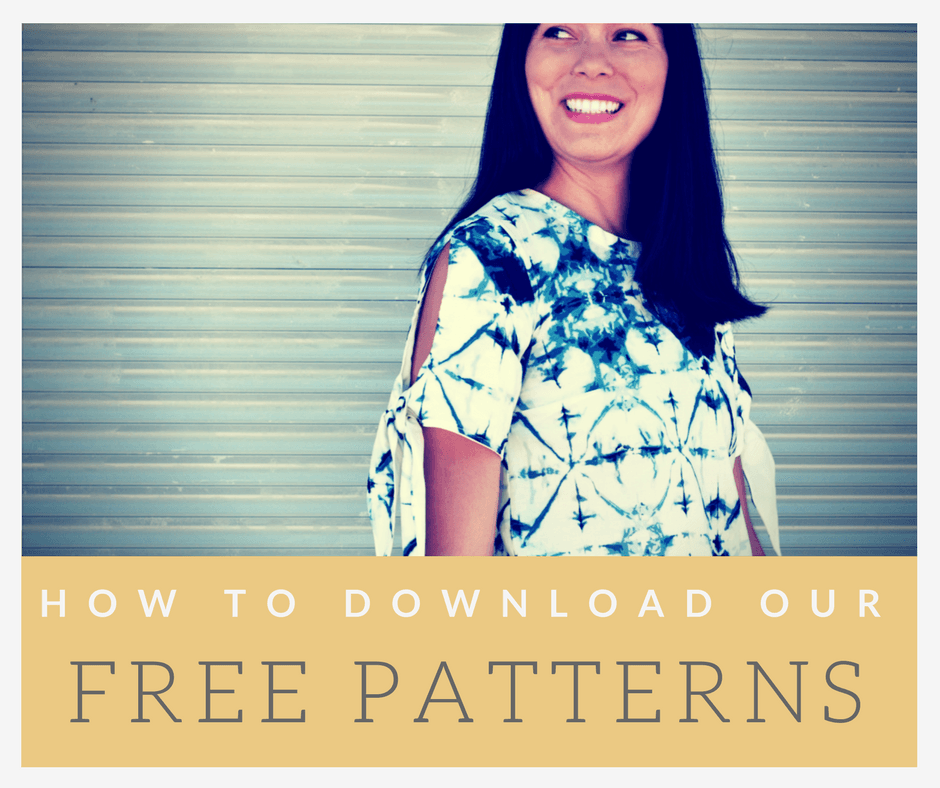 772 Archives - On the Cutting Floor: Printable pdf sewing patterns ...