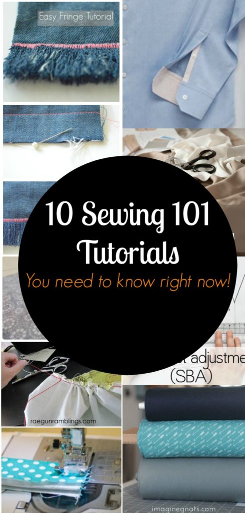 Useful sewing tutorials (you did not know exist)