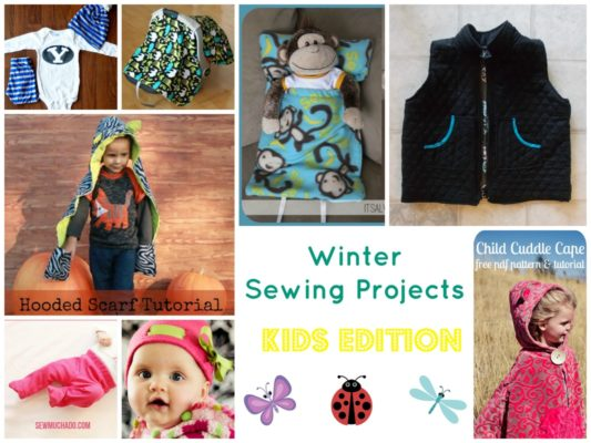 Winter Sewing Projects: Kids Edition