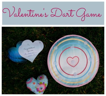 Valentine Gift Idea: An Easy Dart Game Project