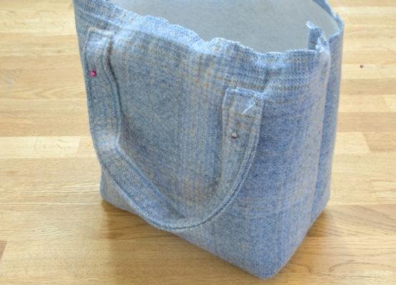 Attach bag handles