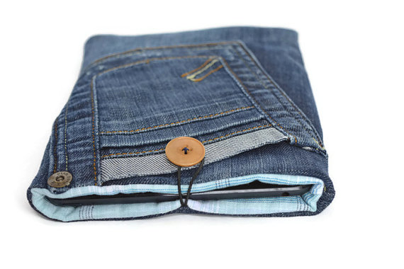 Denim Mini IPAD Case 2