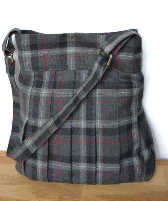Tweed Skirt Bag