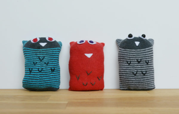 Collection of sock owls