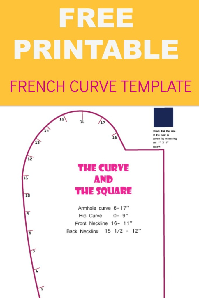 photograph about Printable French Curve identified as FRENCH CURVE PRINTABLE TEMPLATE Upon the Reducing Flooring