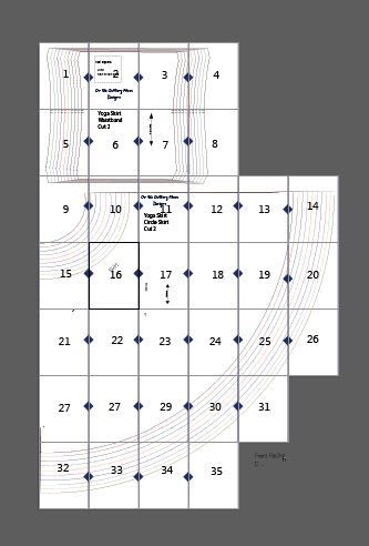 photograph about Printable Sewing Pattern referred to as Upon the Slicing Flooring Site Upon the Chopping Surface area