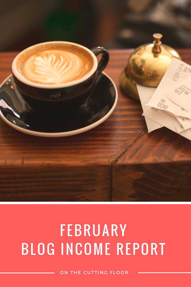 Blog Income Report: February 2015