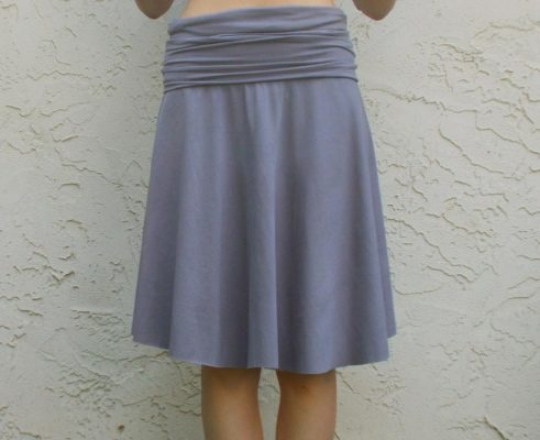 FREE SEWING PATTERN: The yoga skirt | On the Cutting Floor ...