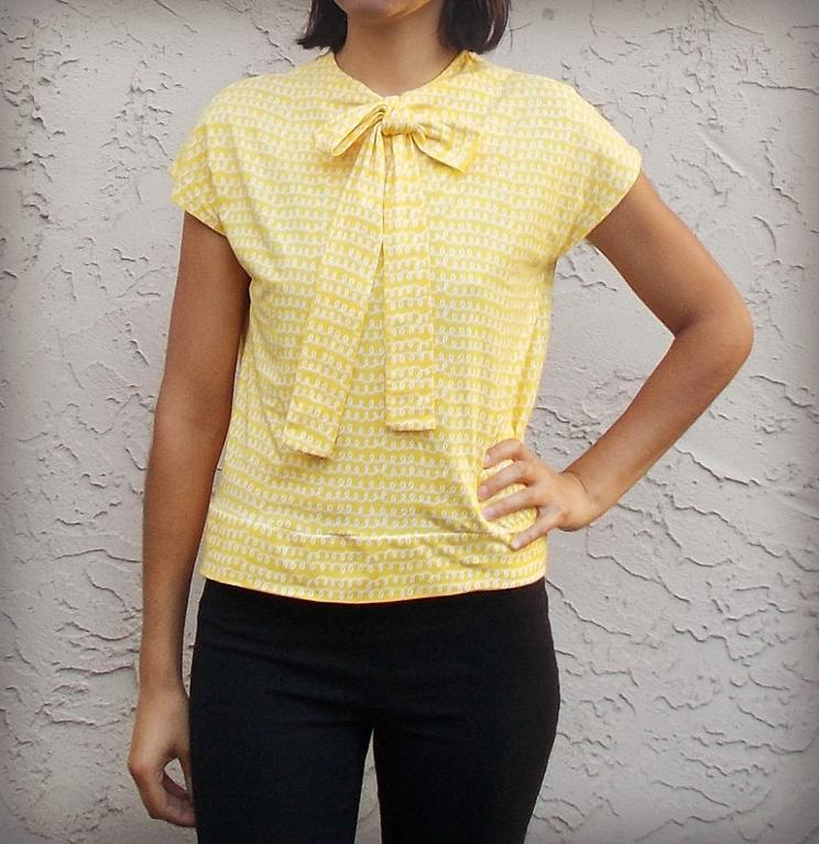 SEWING PATTERN:  The Necktie Top