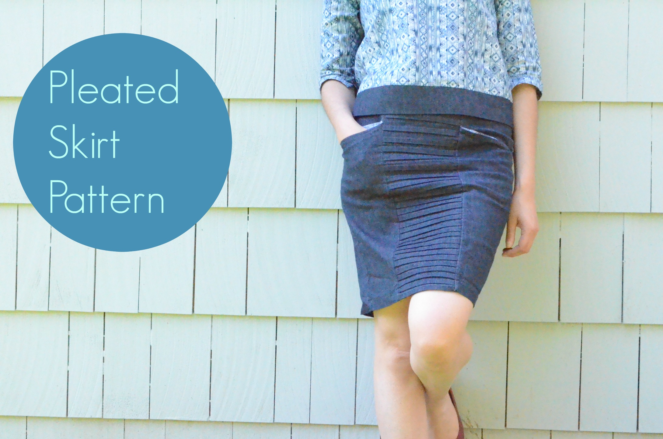 pleated skirt pattern