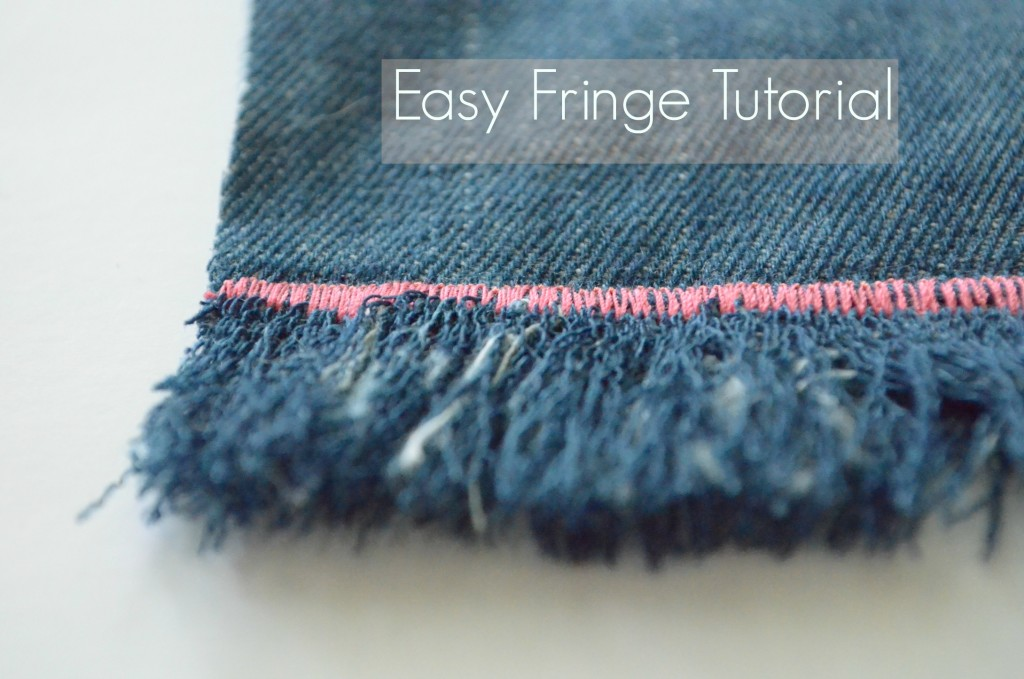 Easy Fringe tutorial