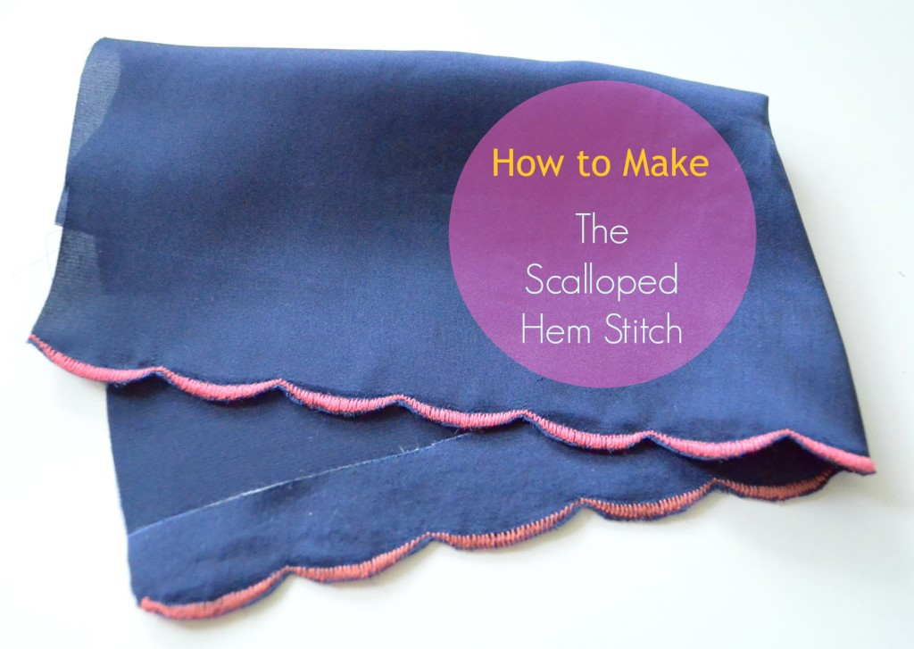 Scalloped Hem Stitch