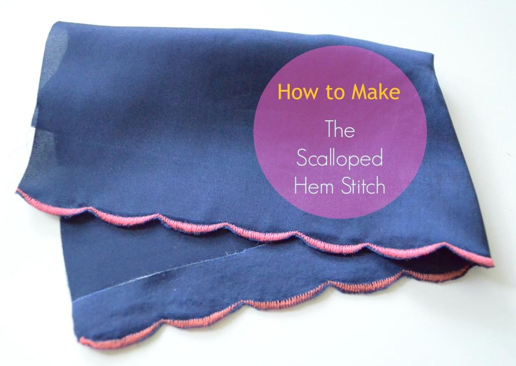 Scalloped Hem Stitch