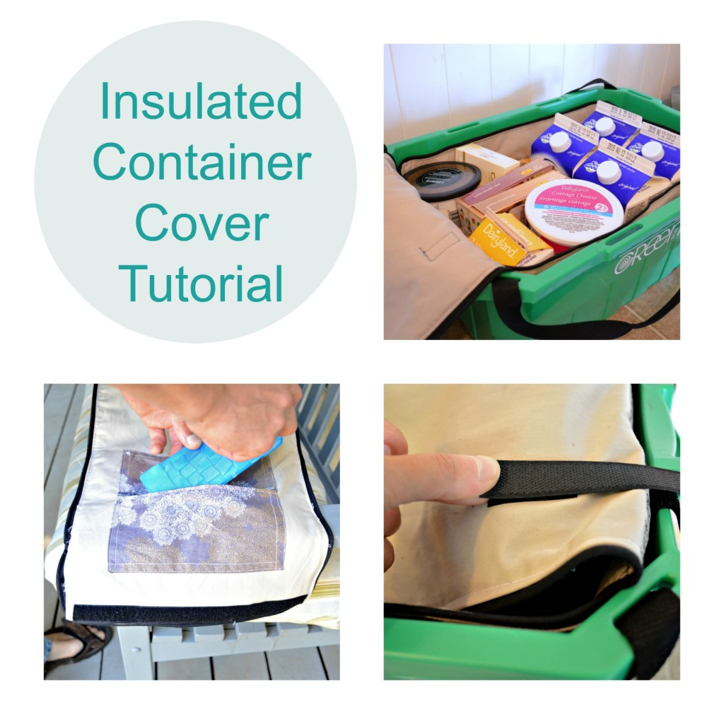 Insulated Container Cover